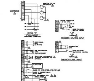 Schematics for the Woodward 2301A-LSSC