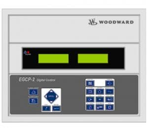 Interface de l'EGCP 2 de Woodward