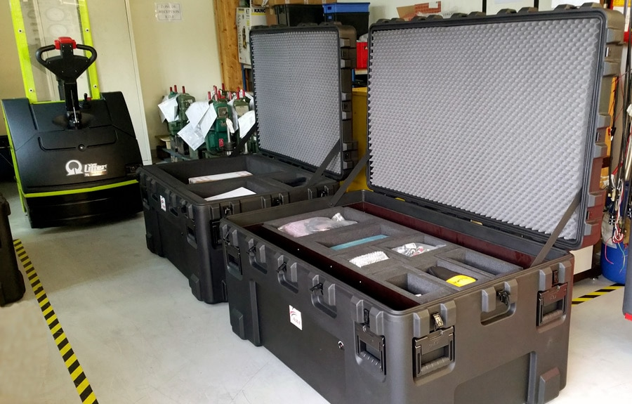 Conditioning of AWF measuring and testing devices
