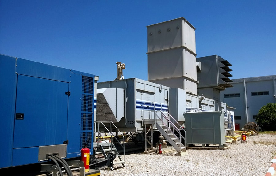 FT8 mobile gas turbine and AWF intervention